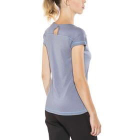 Columbia Peak to Point - Camiseta manga corta Mujer - azul